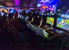 Our League of Legends Team playing at the reality, Drachten