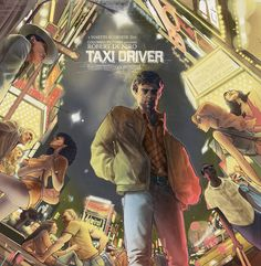 Taxi Driver by Rich Kelly