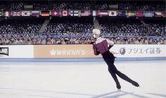 """shiggeo: """" """" Victor Nikiforov in ユーリ!!! on ICE PV """" """""""