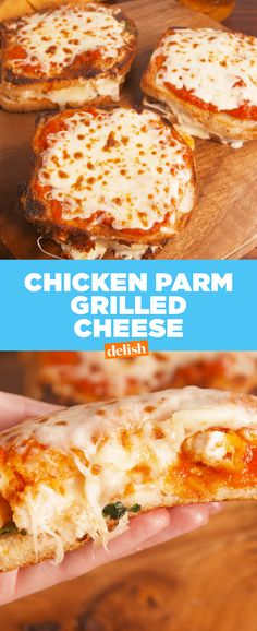 Chicken Parm Grilled Cheese is the ultimate mash-up of 2018.