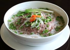 Vietnamese Cuisine for Two or Four at Pho Bon (Up to Off) Vietnamese Cuisine, Vietnamese Recipes, Vietnamese Restaurant, Hanoi, Pho Noodle Soup, Pho Bo, Pho Recipe, Beef And Noodles, Cooking Classes