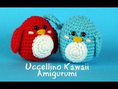 Uccellino Kawaii Amigurumi | World Of Amigurumi - YouTube