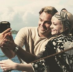 Gorgeous Leo DiCaprio and Carey Mulligan - The Great Gatsby