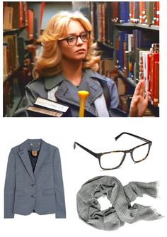 Goldie Hawn in Foul Play | library chic