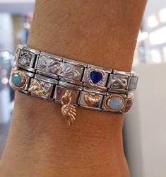 Nomination Bracelet, Costume Jewelry, Charmed, Italy, Jewellery, Bracelets, Earrings, Accessories, Inspiration