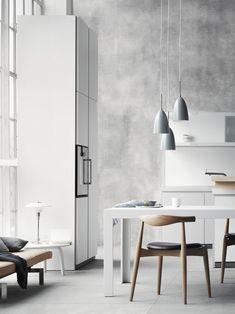 bulthaup b1 Copenhagen, bulthaup C2 table, Carl Hansen Elbow Chairs
