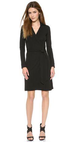 Diane von Furstenberg New Jeanne Two Wrap Dress | SHOPBOP