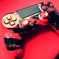 #ps4 #Playstation #playstation4 #playstationnation #thisis4theplayers #dualshock #dualshock4  #bulletbuttons #thumbsticks  #custom #shell #blackandred #red #black #console #consolelovers  #gaming #games #gamer #ps #play #gamers #controller #ps4controller #psn