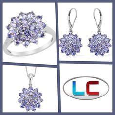 Liquidation Channel: Tanzanite Ring, Earrings, or Bracelet