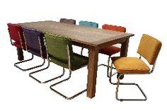 Buisframe stoelen