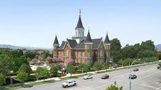 Provo City Center Temple rendering