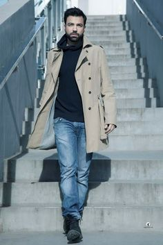 Attractive Men, It Cast, Greeks, Mens Fashion, Actors, Celebrities, Coat, Men's Style, Jackets