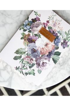 Floral Notebook - main
