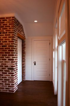 horizontal door panels, but better recessed,  horizontal wall treatment