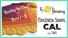 Erigeneia CAL Part TWO -  Rows 1 to 6