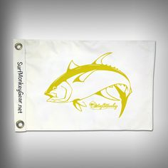 Fish Tournament Flag - Tuna - Marine Grade - Boat Flag