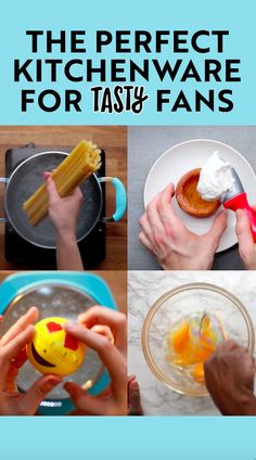 The perfect kitchenware for Tasty fans. – Kids friendly dinners for picky eaters Healthy Prepared Meals, Healthy Foods To Eat, Healthy Baking, Healthy Recipes, Kid Friendly Dinner, Kid Friendly Meals, Buzzfeed Tasty Videos, Green Grapes Nutrition, Food Videos