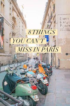 8 rzeczy, których nie możesz przegapić w Paryżu  | www.shakeit.pl