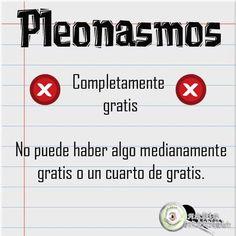 «completamente gratis» -> «gratis» #español #consejos #estilo