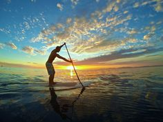 Beautiful Afternoon SUP session taken on the new GoPro HERO3+ click the image to see more!  #sup #paddleboarding #standuppaddle