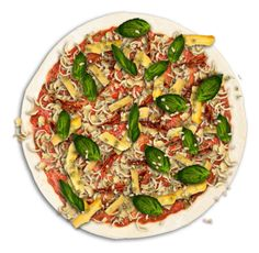 Create your own pizza with Col'Cacchio pizzeria and stand the chance to win a year's supply of slices! Vegetable Pizza, Quiche, Times, Vegetables, Create, Breakfast, Happy, Food, Morning Coffee
