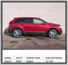 2013 Ford Edge Limited SUV  Mp3 Player, Rear Spoiler: Lip, Total Number Of Speakers: 12, Clock: In-Dash, Rear Center Seatbelt: 3-Point Belt, Vehicle Emissions: Ulev Ii, Right Rear Passenger Door Type: Conventional, 580 Lbs., Regular Front Stabilizer Bar, Sync With Myford Touch, Passenger Airbag, Overall Length: 184.2, Transmission Hill Holder, Front And Rear Suspension Stabilizer Bars, Tachometer, Braking Assist, Door Pockets: Driver, Cargo Tie Downs, Permanent Locking Hubs