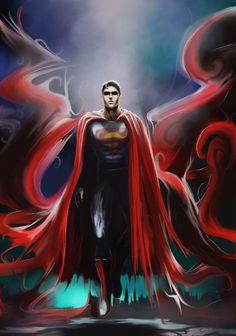 Superman by wildlifehoodoo