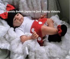 Örgü Kız Bebek Şapka Ve Şort Yapılışı Videosu