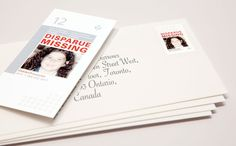 Missing Kids Stamps Project Turns Postage into Missing Child Posters