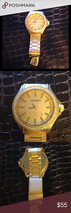 Gold time Nice watch, suits for men and women, gold color, a new luxury !!! Dunkman Accessories Watches