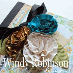 Duct Tape Roses & Blog Hop Winners | Designs by Windy Robinson