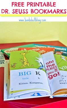 Family Adventure Series: Dr Seuss Bookmarks