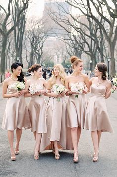 Bridesmaids Dresses Donna Morgan Fall 2017