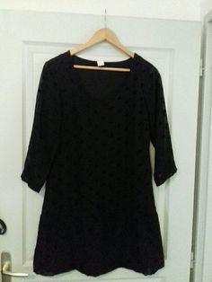 Robe noir Vila