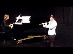 """Flute Concert - """"Comic Song""""  from Six Pastiches For Flute, Cecilia McDowall, Dec 2011 Grade 4"""