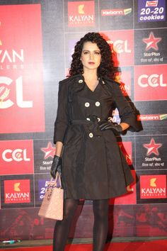 Kangana Ranaut at CCL Season 3 Launch.