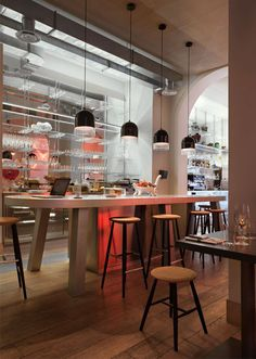 contemporary bistro interior decor3