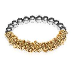 Silver   18k Gold   Links of Love Bracelet