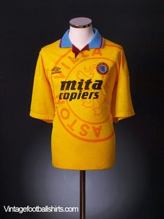 1991-93 Aston Villa Third Shirt *BNIB* L