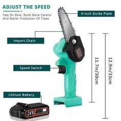 Rechargeable MINI Lithium Chainsaw -【70% OFF CYBER WEEK SALE】 – Your Fancy Deals Mini Chainsaw, Electric Chainsaw, Cool Gadgets To Buy, Sale 50, Wood Cutting, Cool Tools, Diy Tools, Home Repair, Outdoor Power Equipment