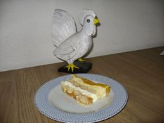 quilts van kippetje en méér.....: trifle van perzik, kwark, slagroom en lange vingers!