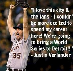 Justin Verlander of the Detroit Tigers.
