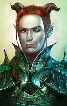 Neverwinter Tiefling Weapon Master Valen Shadowbreath