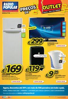 Newsletter - Preços de Outlet!    http://www.radiopopular.pt/newsletter/2013/08/