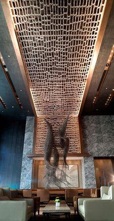 Conrad Hotel Beijing | Hotel Interiors Inspirations #hotelinteriors #hoteldesign…