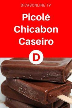 Picolé chicabon | Picolé Chicabon Caseiro | Agora você pode fazer picolé Chicabon em casa e fazer um dinheirinho extra. Fica o mesmo sabor. Veja: