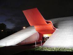 building oscar Niemeyer ibirapuera Pk Sao Paulo