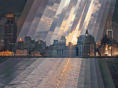 Mesmerizing GIFs Show Cities Passing From Day to Night | GIF-ing the original images took a total of four months to complete.  Fong Qi Wei  | WIRED.com