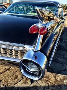 Fins on a Cadillac ©petepetras