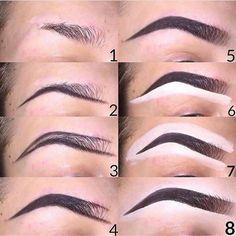 Make Up; Make Up Looks; Make Up Augen; Make Up Prom;Make Up Face; Makeup Steps Source by Eyebrow Makeup Tips, Make Makeup, Makeup Eye Looks, Beauty Makeup Tips, Contour Makeup, Eye Makeup Tips, Skin Makeup, Eyeshadow Makeup, Makeup Hacks